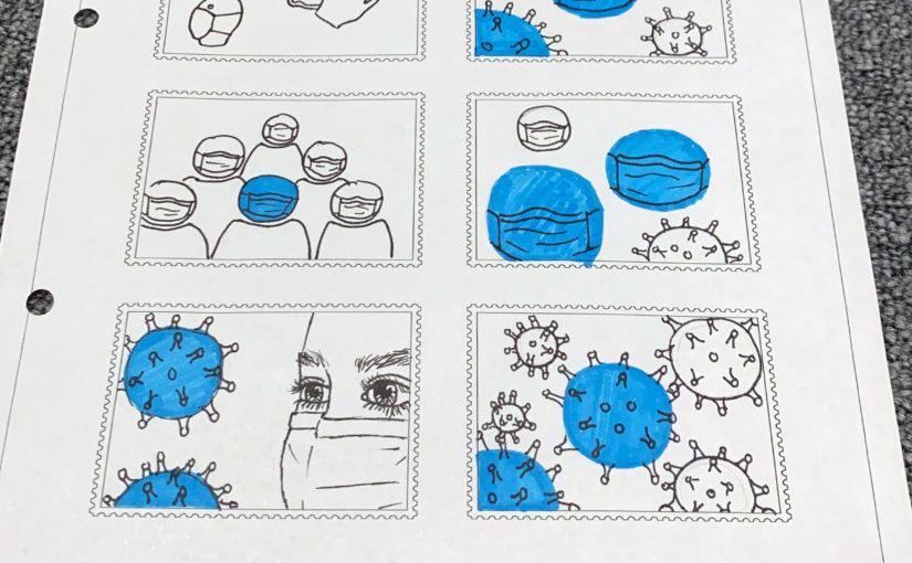 Projekt: Briefmarken-Serie